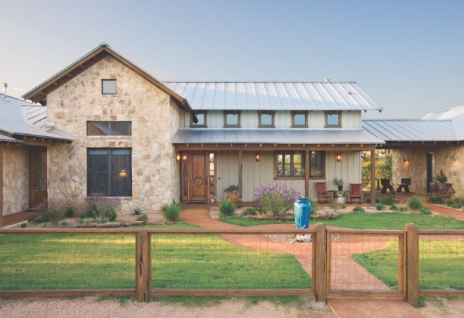 High Ridge Ranch in Wimberley, Texas, is a 5,300-square-foot compound of three b