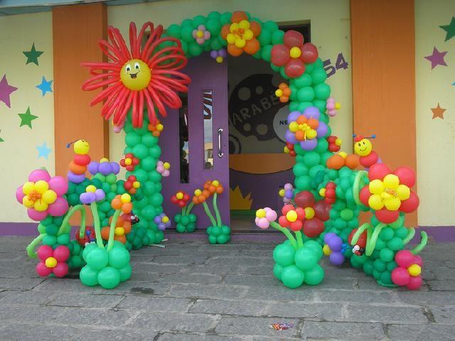 222 best globos jard n images on pinterest for Decoracion de piscinas