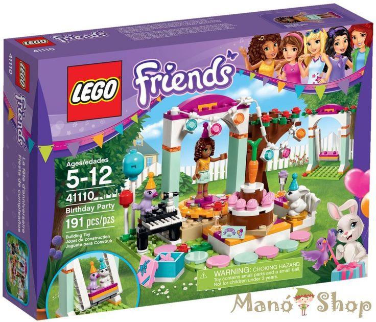 Lego Friends Születésnapi zsúr 41110