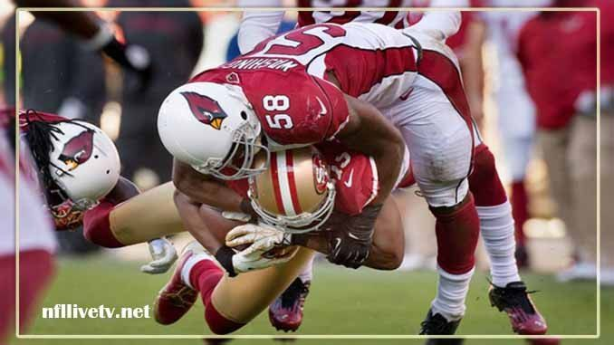 Arizona Cardinals vs San Francisco 49ers Live Stream Teams: Cardinals vs 49ers Time: 5:05 PM ET Week-9 Date: Sunday on 5 November 2017 Location: Levi's Stadium, Santa Clara TV: NAT Arizona Cardinals vs San Francisco 49ers Live Stream  Watch NFL Live Streaming Online The Arizona Cardinals...