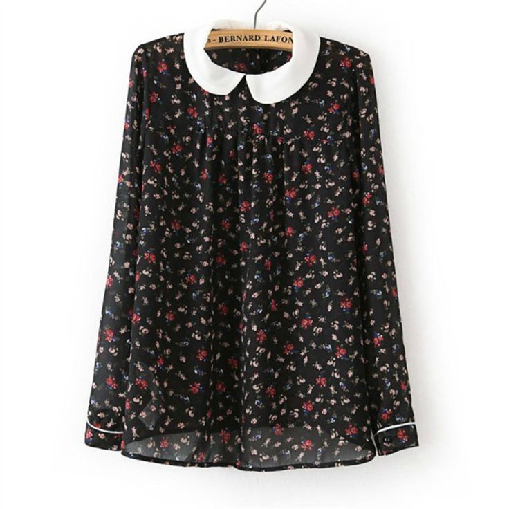 Cheap Blouses & Shirts on Sale at Bargain Price, Buy Quality chiffon shirt tops, chiffon shirt, shirt top from China chiffon shirt tops Suppliers at Aliexpress.com:1,Decoration:None 2,Sleeve Length:Full 3,Material:Acetate 4,Pattern Type:Floral 5,Fabric Type:Chiffon