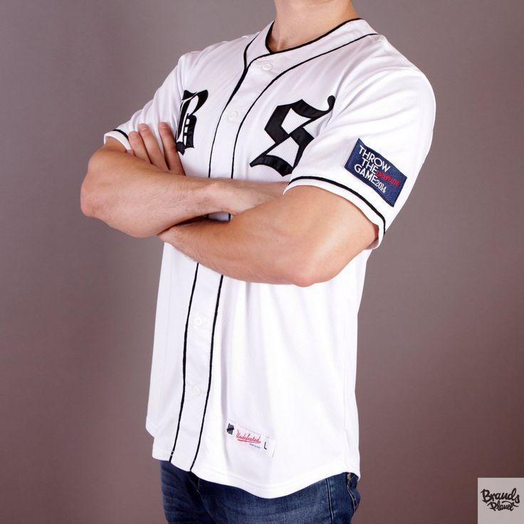 Biała koszulka Undefeated BS Jersey White  / www.brandsplanet.pl / #undefeated #UNDFTD