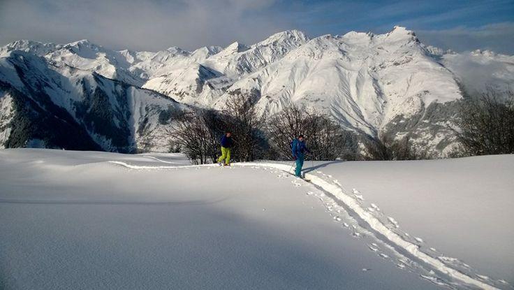 Ski touring - January