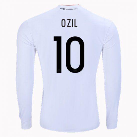 2017 Germany Soccer Team LS Home #10 Ozil Replica Football Shirt 2017 Germany Soccer Team LS Home #10 Ozil Replica Football Shirt
