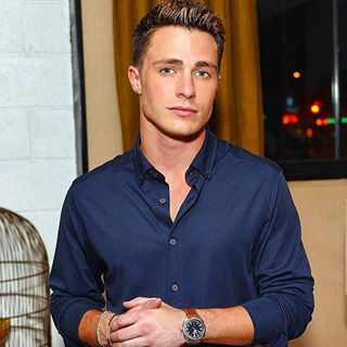 This is the hilarious, talented, gorgeous actor Colton Haynes. You know him from Arrow and Teen Wolf, of course.   Community Post: Colton Haynes Just Out-Halloweened Himself By Dressing Up As Ursula
