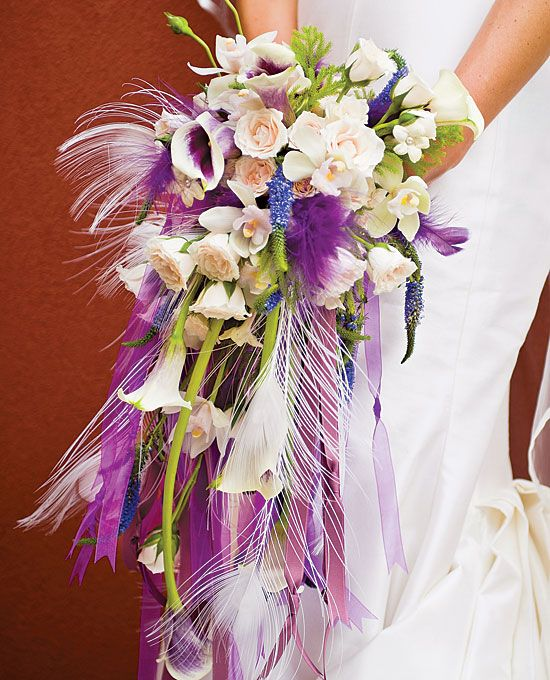 Diy Feather Bouquets Weddings: 1000+ Images About Flowers With Feathers On Pinterest