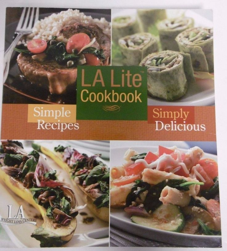 la weight loss cookbook