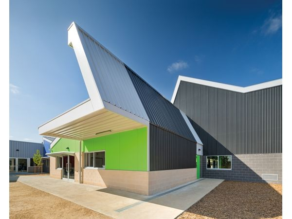 A Walled City: Dallas Brooks Community Primary School By McBride Charles  Ryan   Architecture And