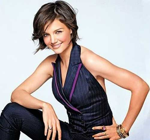 Katie Holmes Hairstyles Endearing 41 Best Katie Holmes Bob Haircuts Images On Pinterest  Short