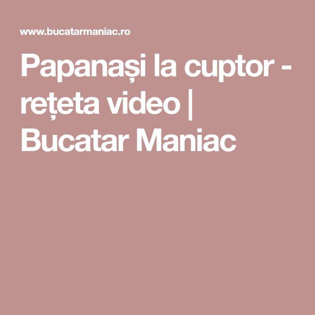 Papanași la cuptor - rețeta video   Bucatar Maniac