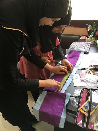 Little Piece of Freedom in Lebanon :: This may be the best, most thoughtful way to help the Syrian refugee girls and women in Lebanon (or Jordan, more likely)