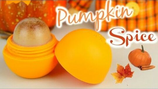 OMG!!! Pumpkin Spice EOS I'm so trying this!! -made by Karina Garcia (go subscribe to her!)