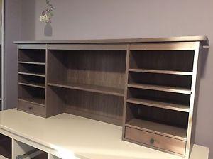 Ikea Hemnes Add On Unit Gray Brown