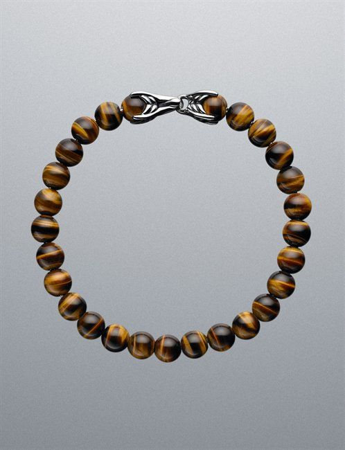 David Yurman Tiger Eye Spiritual Bracelet