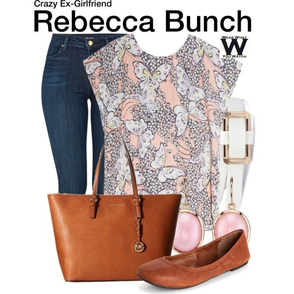 Inspired by Rachel Bloom as Rebecca Bunch on The Crazy Ex-Girlfriend.