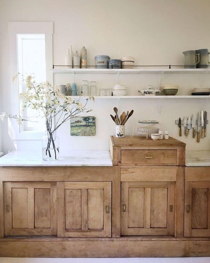 Wooden Kitchen Cabinets. One shown is approximately 60 ...