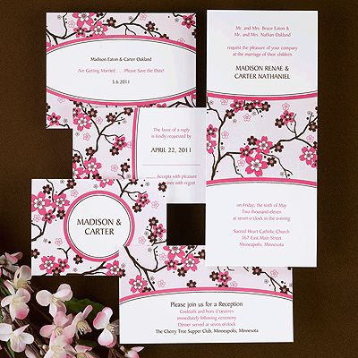 sakura wedding invitations 232 best Mulan Wedding
