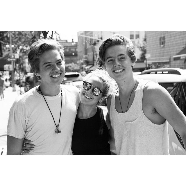 I love seeing these boys. My little brothers have grown into such smart, talented, and genuinely great people. @olekingcolesprouse @dylan_spr