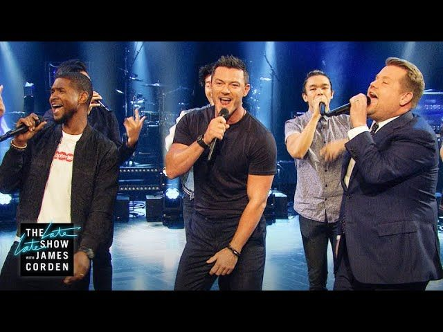 While James is lamenting over the lack of soul and sexiness from modern male vocalists, Usher and Luke Evans crash the show to take exception and settle the dispute with a riff-off of songs from Marvin Gaye, K-Ci & Jojo and Foreigner.      https://www.youtube.com/watch?v=TYR_7CeO39E   #Carpool #CBS #celeb #Celebrities #Celebrity #colbert #Comedian #Comedy #Corden #Famous #funny #funny video #funny videos #hollywood #humor #impressions #James Corden #Joke #jokes #Karaoke #La