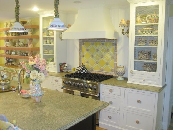 1000 images about courtly check ish on pinterest ring for Mackenzie childs kitchen ideas