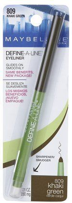 Maybelline DefineALine Eyeliner  Khaki Green >>> Find out more about the great product at the image link.