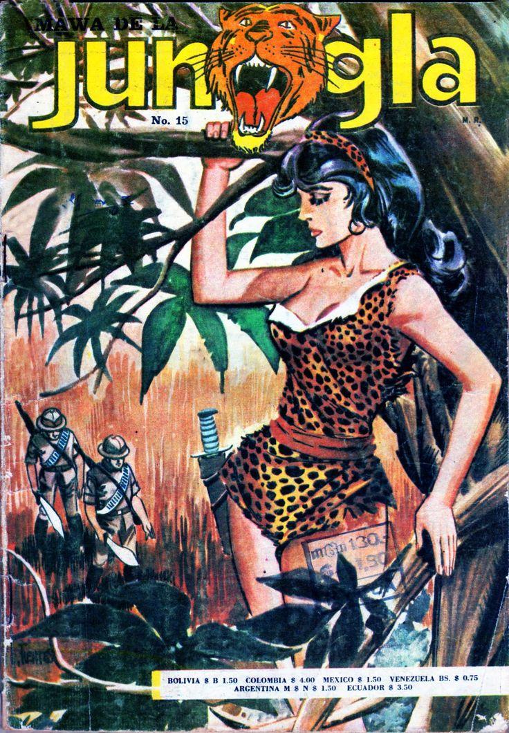 Jungla # 15. En portada Mawa (Comic Chile)