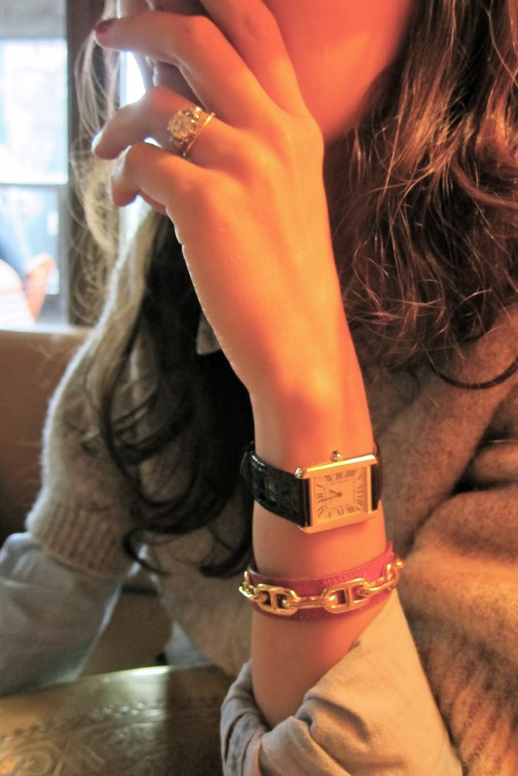 Cartier tank solo, mismatched ring set                                                                                                                                                      More