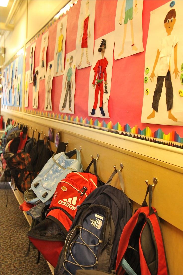 Lower School hallway
