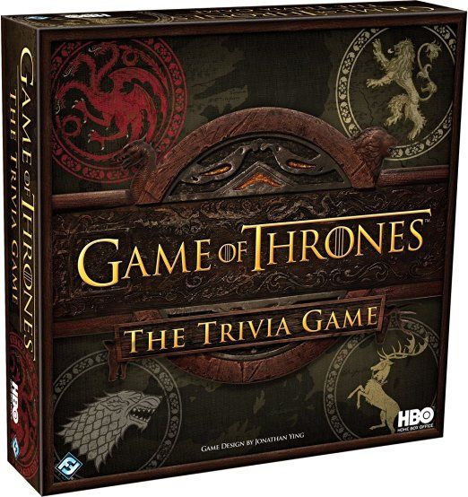 Game of Thrones Trivia Game - $30  http://amzn.to/2cUpJdu