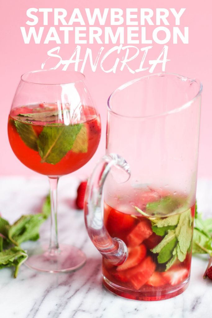A sweet, refreshing, and satisfying Strawberry Watermelon Sangria with the perfect hints of mint and tang of orange liqueur. In December 2015, I shared a holiday sangria recipe that broke the internet. Okay, totally kidding. But, it was the most popular post I'd shared (until this one). I had a...