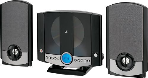 GPX - Micro Hi-Fi System - Black, HM3817DTBLK