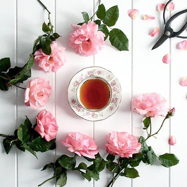 Blooming lovely tea....