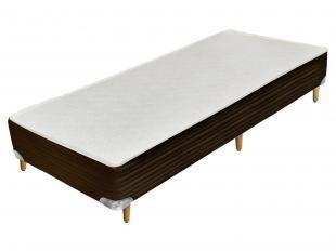 Box para Colchão Solteiro 100x200cm - Castor Gold Star Pocket Látex Gel