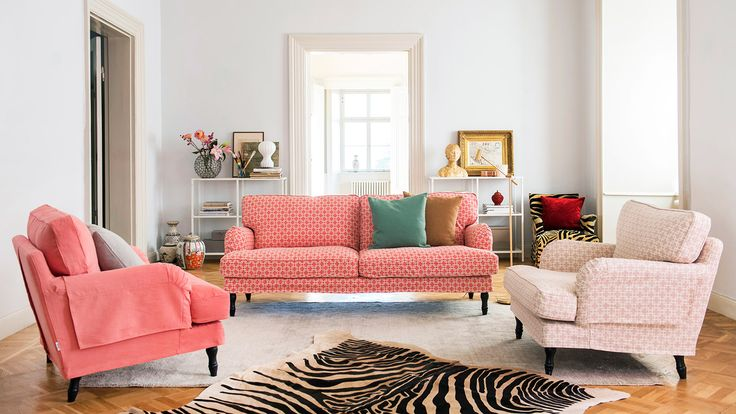 Time to celebrate - the 2018 IKEA catalogue/catalog is out! It's the perfect occasion to elevate your IKEA sofa/couch with a personalised couch cover/sofa cover.