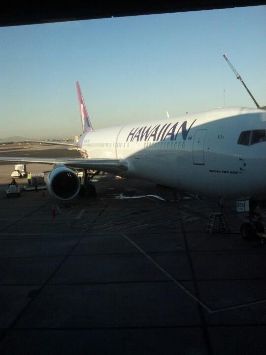 Hawaiin Airlines San Francisco - Honolulu