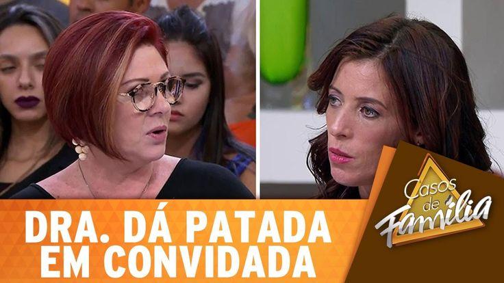 """Casos de Família (03/03/17) - Dra. Anahý dá patada """"educativa"""" e arranca..."""