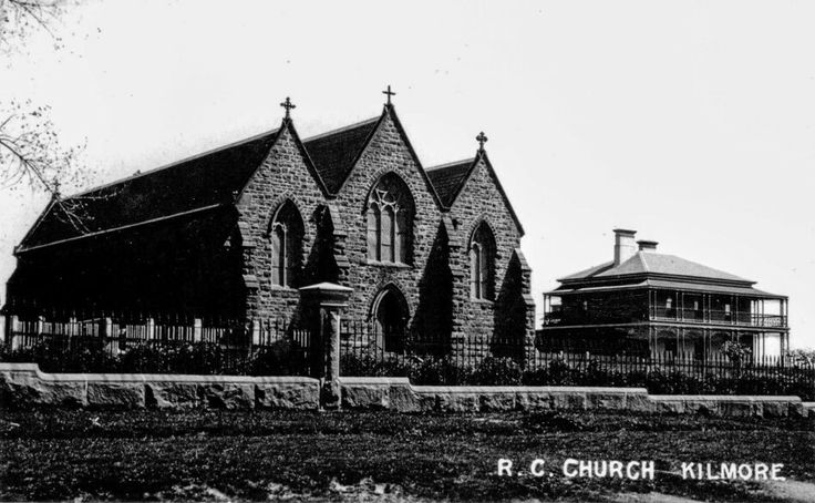 St. Patrick's Church and Presbytery,Kilmore in Victoria in 1920.