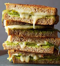 Chile Relleno Grilled Cheese These hearty dishes may seem like splurges, but there's no need to save them for cheat days -- each one comes in at around 450 calories or less