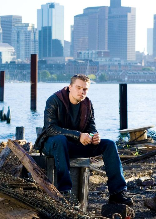 Leonardo DiCaprio in The Departed (2006)