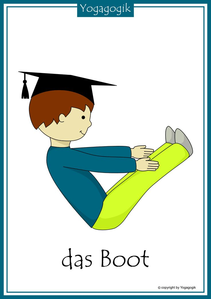 Kinderyoga Flashcards Boot