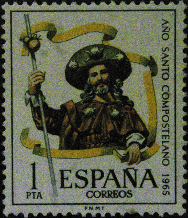 Sellos - Año Santo Compostelano 1.965