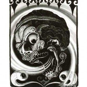 Filip Leu, Skull II © 1998  Print, $ 27.00