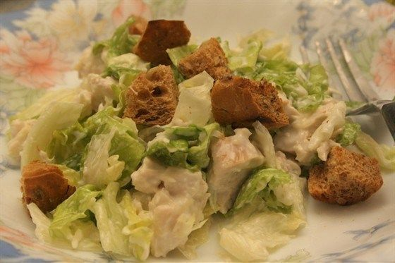 Низкокалорийный салат «Цезарь»