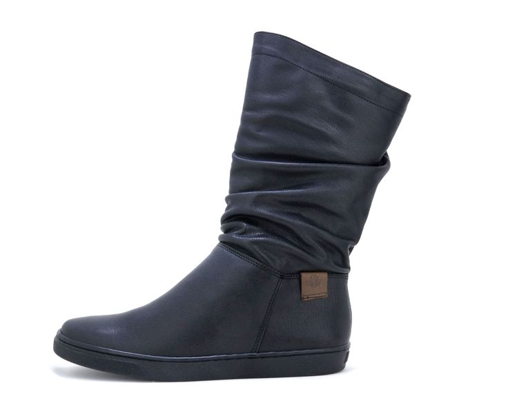 Froggie Ruched Midi Black Handmade Genuine Leather Boot. R 1'599. Handcrafted in Durban, South Africa. Code: 10970 Shop for Froggie online https://www.thewhatnotshoes.co.za Free delivery within South Africa