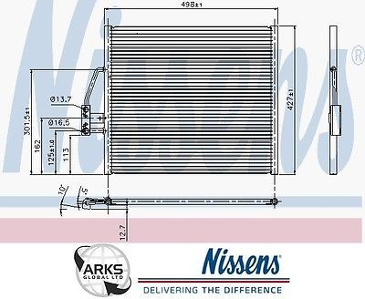 #Nissens ac #condenser 94274 bmw 5 e39 #(95-) 520 i,  View more on the LINK: http://www.zeppy.io/product/gb/2/121758361184/