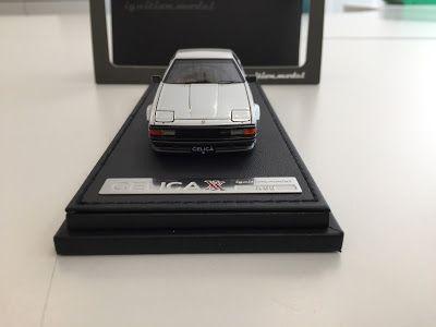 日本自動車デザインコーナー 「Japanese Car Design Corner」: Toyota Celica XX 2800GT (A60) by ignition model