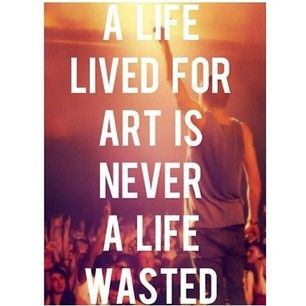A life wasted...