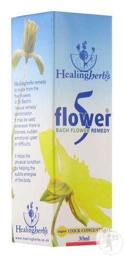 Healing Herbs 5 Flowers Remedy 30ml