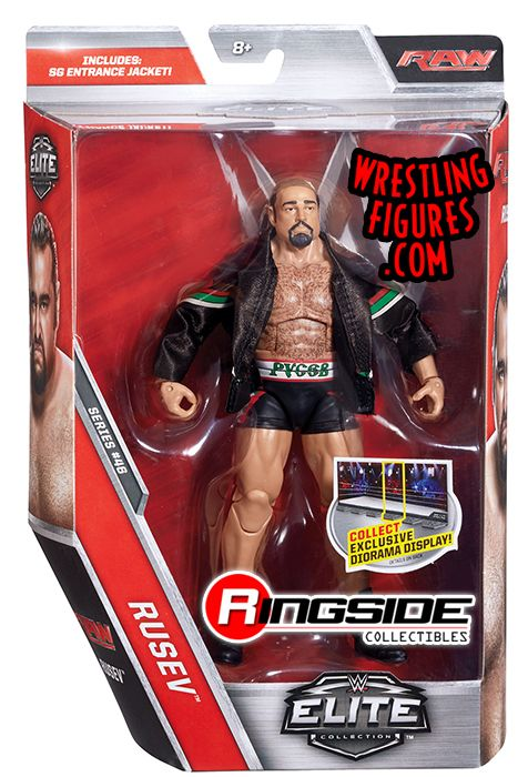 Rusev - WWE Elite 46 WWE Toy Wrestling Action Figure