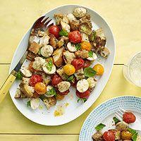 Roasted Tomato Panzanella Recipe